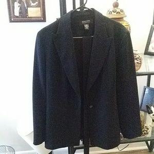 New York company black blazer size 14